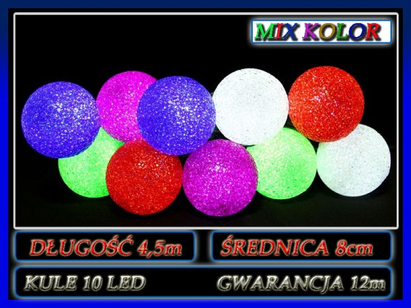 kule 10 led 4,5m mix
