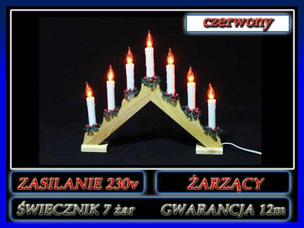 świecznik żar